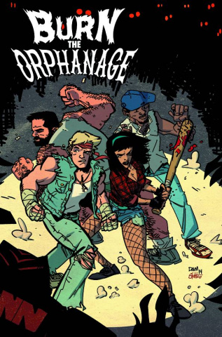Burn the Orphanage: Reign of Terror #5 (Damoose Cover)