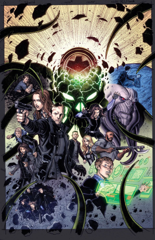Infinity Countdown #1 (Agents of SHIELD Road To 100)