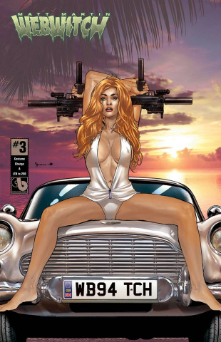 Webwitch #3 (Costume Change 6 Cover Set)