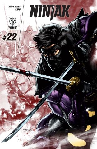 Ninjak #22 (Segovia Cover)