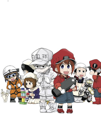 Cells at Work! Baby Vol. 3