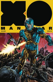 X-O Manowar #3 (20 Copy Interlocking Cover)