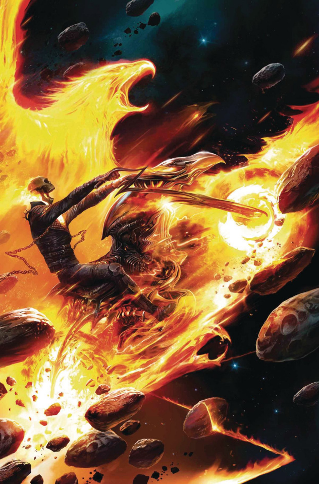 Spirits of Vengeance #3 (Mattina Phoenix Cover)