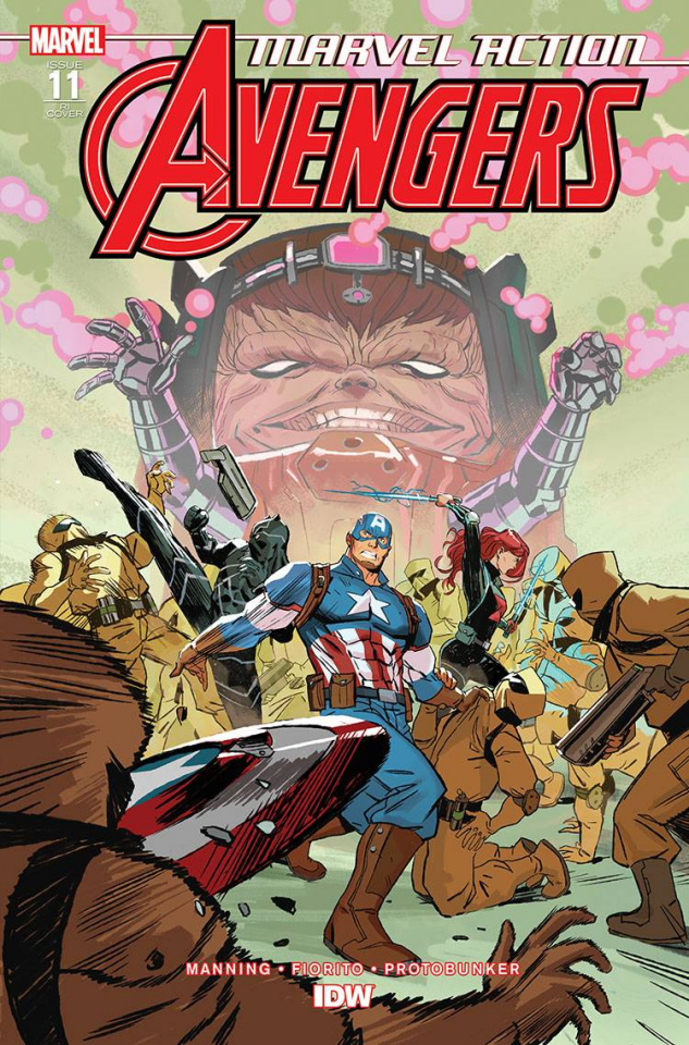 Marvel Action: Avengers #11 (10 Copy Vendrell Cover)