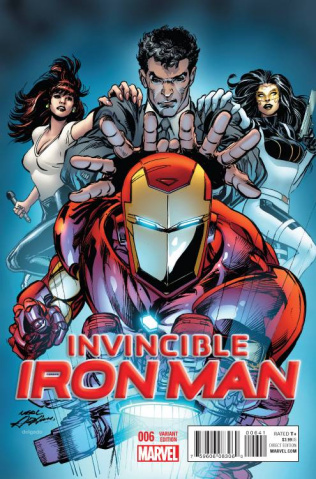 Invincible Iron Man #6 (Neal Adams Cover)