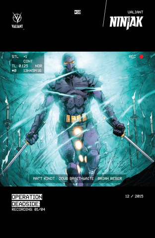 Ninjak #10 (Hairsine Glow-In-Dark Cover)