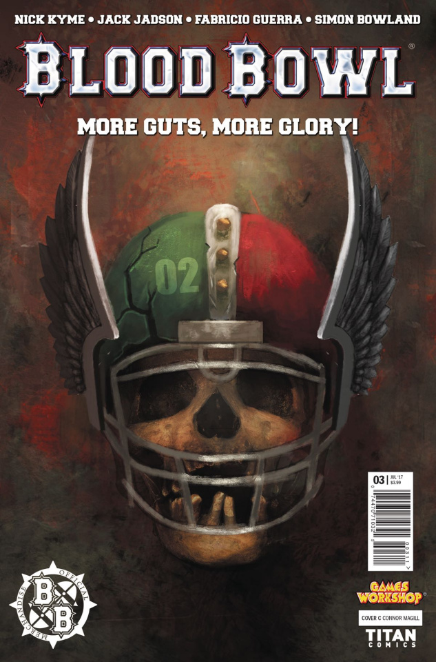 Blood Bowl: More Guts, More Glory! #3 (Magill Cover)