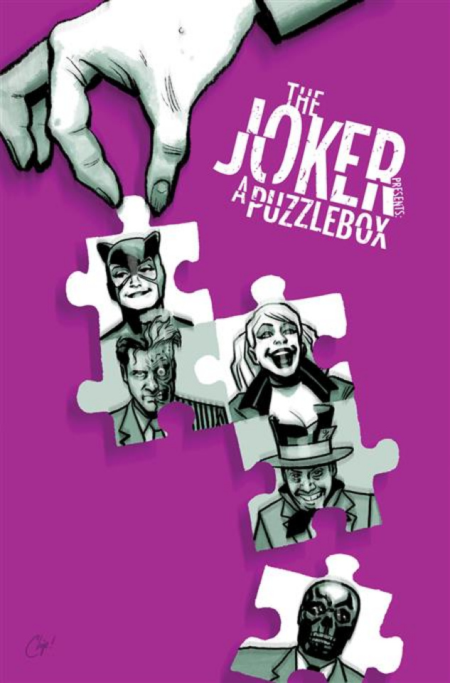 The Joker Presents: A Puzzlebox #2 (Chip Zdarsky Cover)