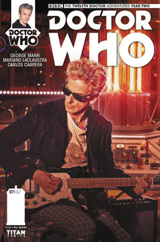Doctor Who: New Adventures with the Twelfth Doctor, Year Two #7 (Photo Cover)