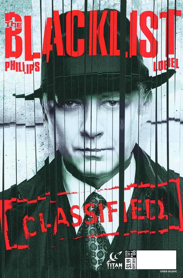 The Blacklist #6 (Photo Cover)