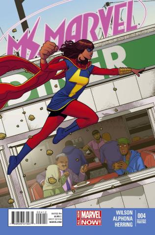 Ms. Marvel #4 (2nd Printing)