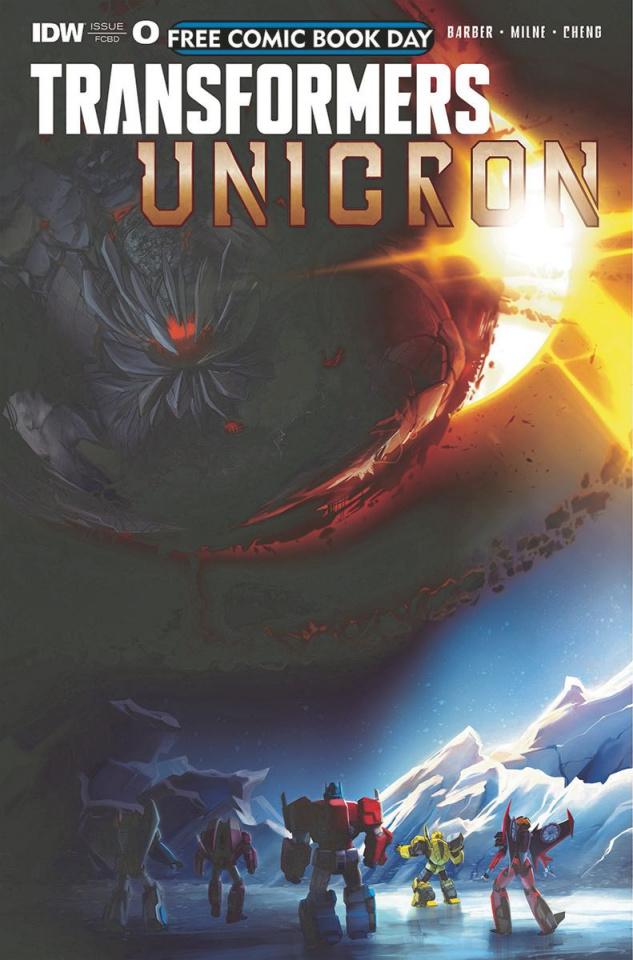 The Transformers: Unicron #0 (FCBD 2018)