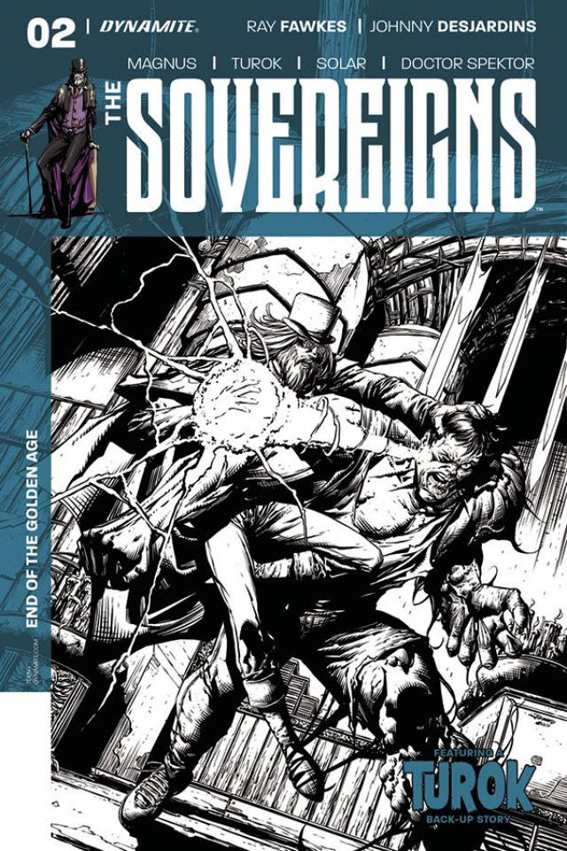 The Sovereigns #2 (20 Copy Desjardins B&W Cover)