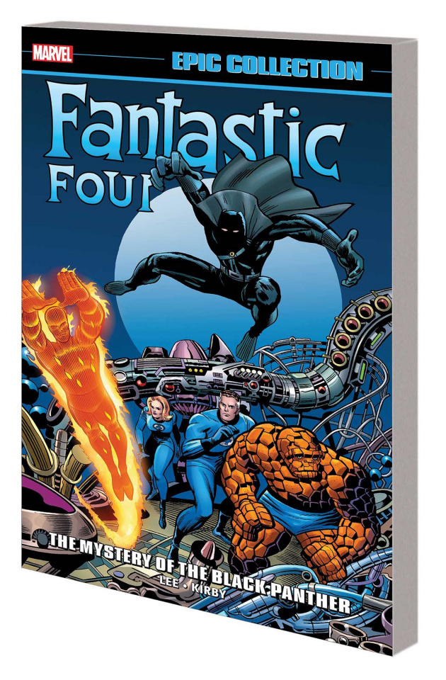 Fantastic Four: The Mystery of the Black Panther (Epic Collection)