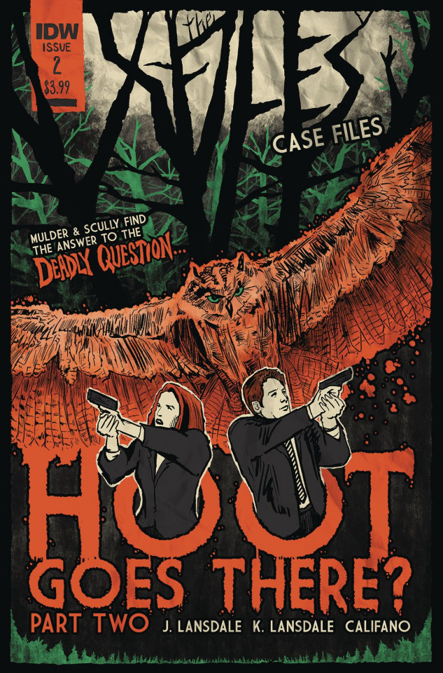 The X-Files Case Files: Hoot Goes There? #2 (Lendl Cover)
