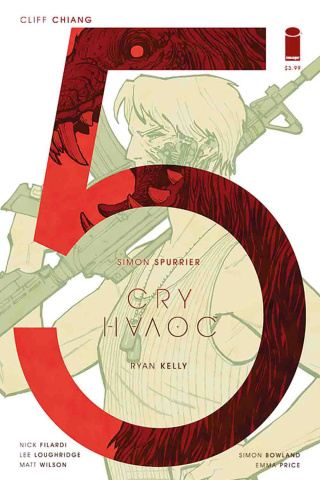 Cry Havoc #5 (Chiang Cover)