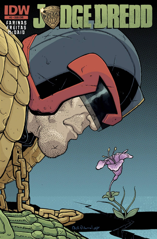Judge Dredd #2 (Subscription Cover)