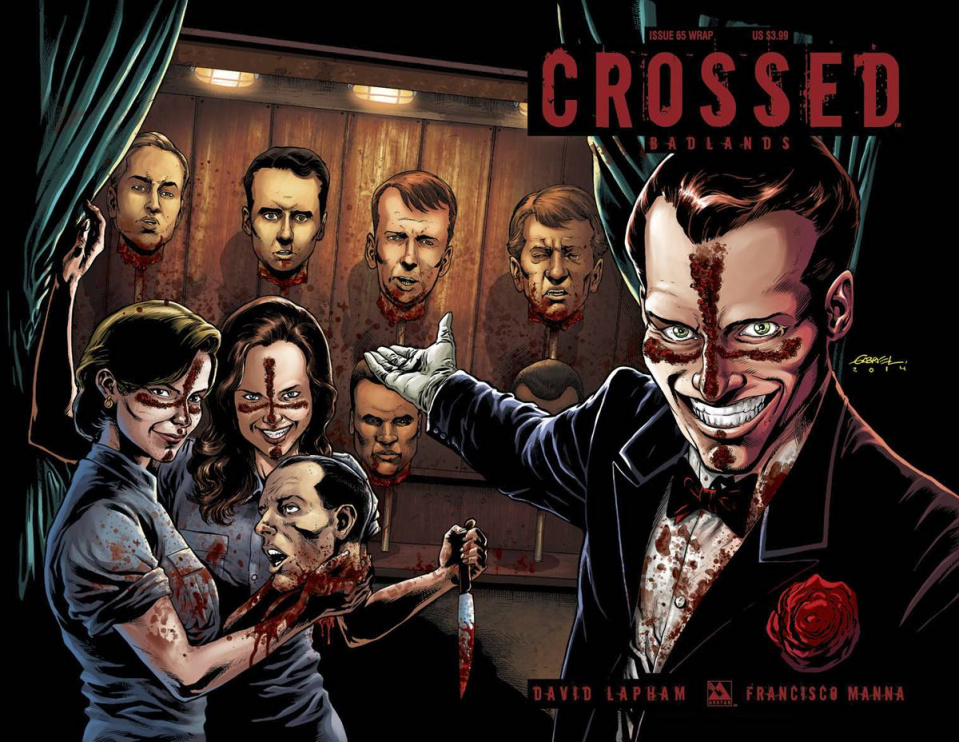 Crossed: Badlands #65 (Wrap Cover)