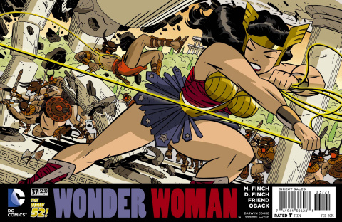 Wonder Woman #37 (Darwyn Cooke Cover)