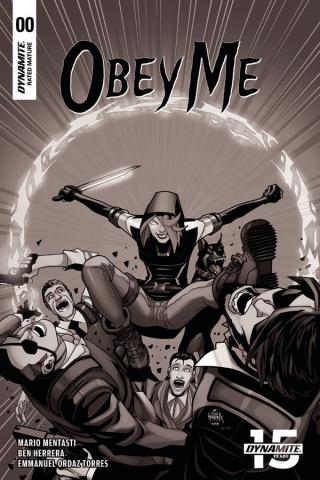 Obey Me #0 (15 Copy Herrera B&W Cover)