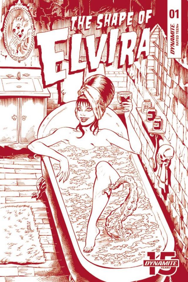 The Shape of Elvira #1 (5 Copy Acosta Virgin Cover)