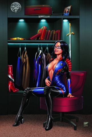 Grimm Fairy Tales: Realm Knights #4 (Spay Cover)