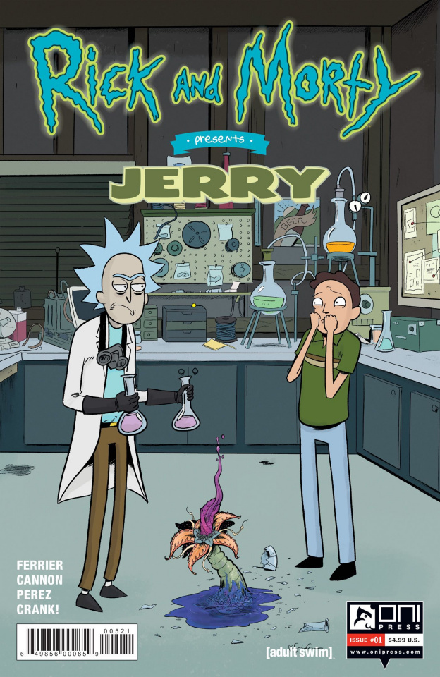 Rick and Morty Presents Jerry #1 (Grace Cover)