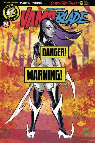 Vampblade, Season Two #12 (Garcia Risque Cover)