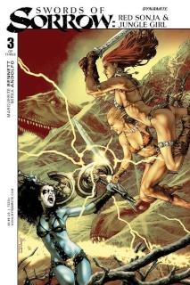 Swords of Sorrow: Red Sonja & Jungle Girl #3 (Anacleto Cover)