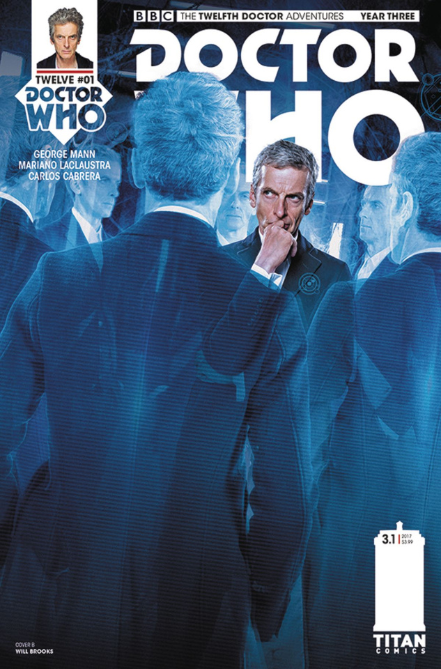Doctor Who: New Adventures with the Twelfth Doctor, Year Three #1 (Photo Cover)