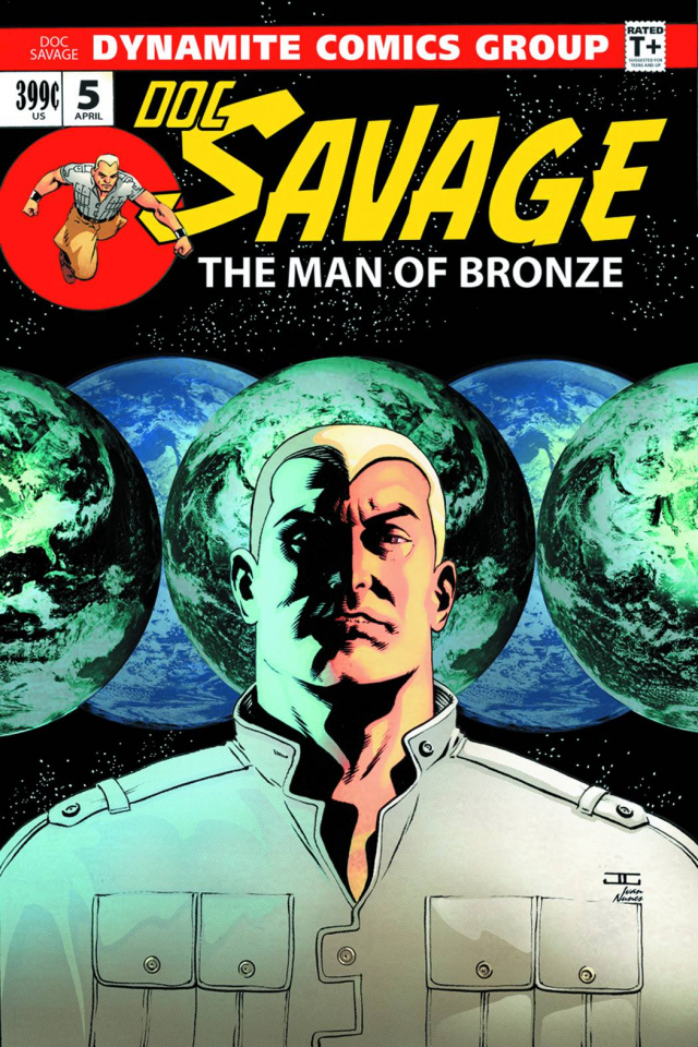 Doc Savage #5 (Cassaday Cover)