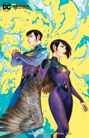 Wonder Twins #3 (Variant Cover)