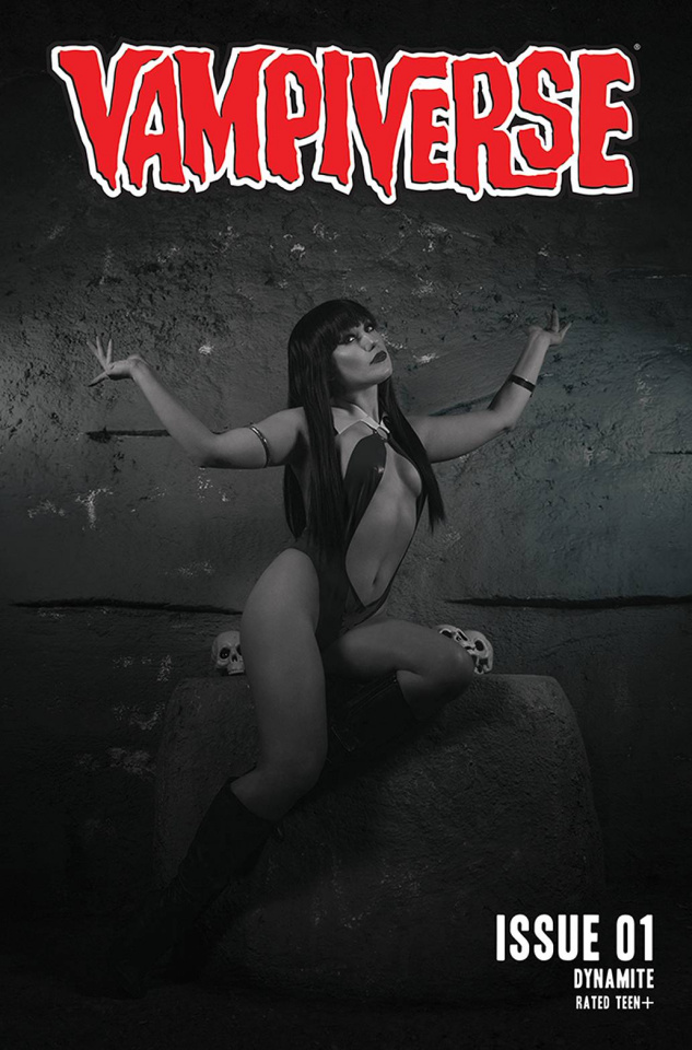 Vampiverse #1 (30 Copy Cosplay B&W Cover)