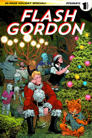 Flash Gordon Holiday Special 2014 (Shaner Cover)