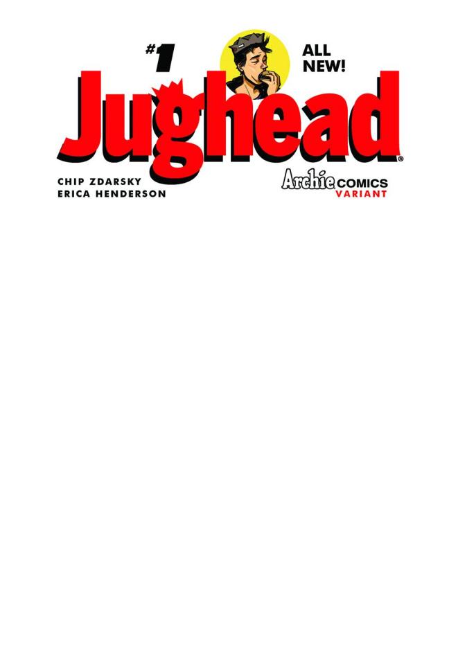 Jughead #1 (Blank Sketch Cover)