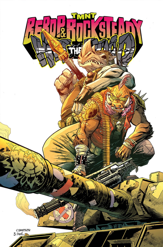 Teenage Mutant Ninja Turtles: Bebop and Rocksteady Hit the Road