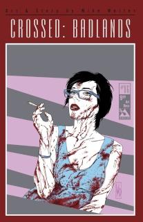 Crossed: Badlands #86 (Art Deco Cover)