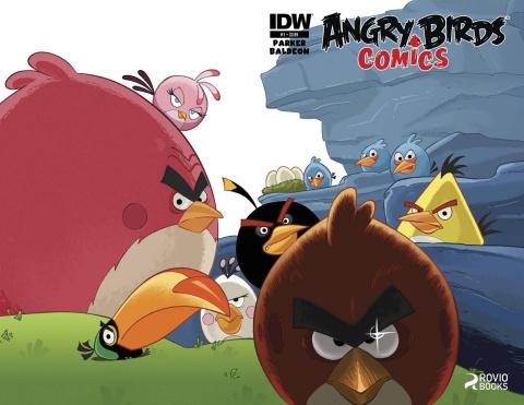 Angry Birds Comics #1