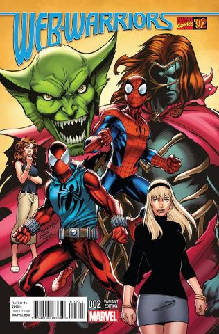 Web Warriors #2 (Bagley Marvel '92 Cover)