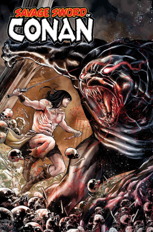 The Savage Sword of Conan #9