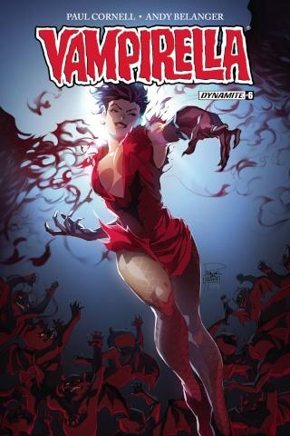 Vampirella #6 (Tan Cover)