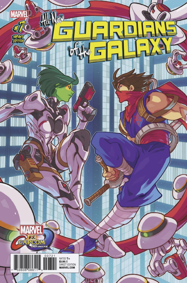 All-New Guardians of the Galaxy #7 (Huang Marvel vs. Capcom Cover)