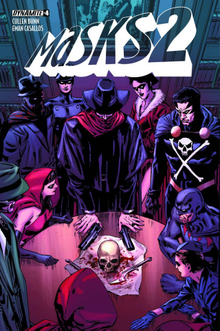 Masks 2 #4 (Guice Cover)