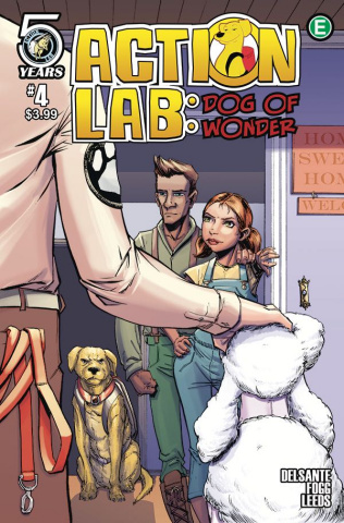 Action Lab: Dog of Wonder #4 (Peteranetz Cover)