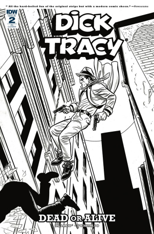 Dick Tracy: Dead or Alive #2 (10 Copy Allred Cover)