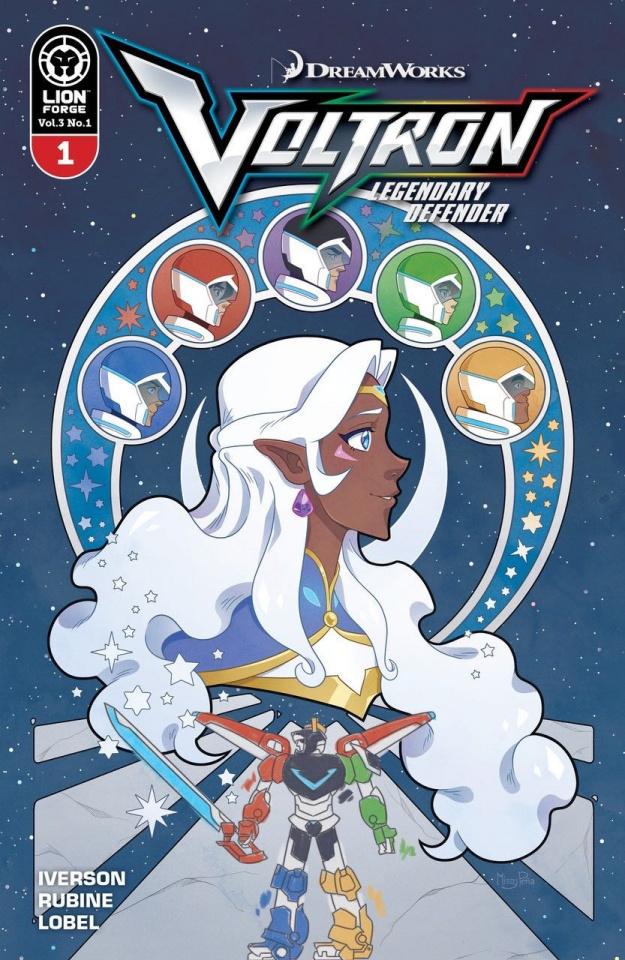 Voltron: Legendary Defender #1 (Pena Cover)