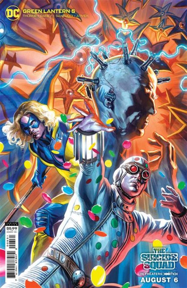 Green Lantern #5 (Felipe Massafera The Suicide Squad Movie Card Stock Cover)
