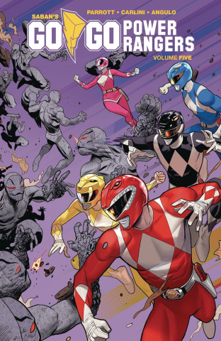 Go, Go, Power Rangers! Vol. 5