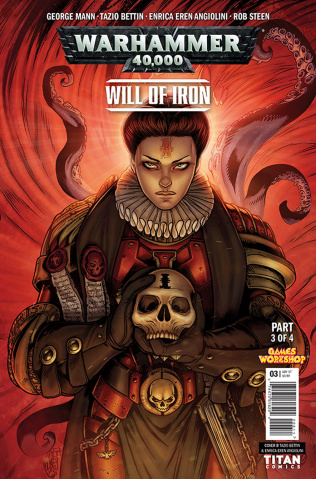 Warhammer 40,000: Will of Iron #3 (Bettin Cover)
