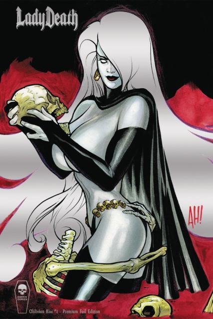 Lady Death: Oblivion Kiss #1 (Foil Premium Cover)